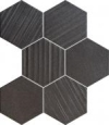 Horizon Hex Black Mozaika 22,1x28,9